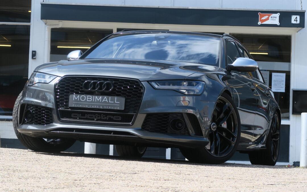 De Audi RS6, indrukwekkend is zelfs een understatement !